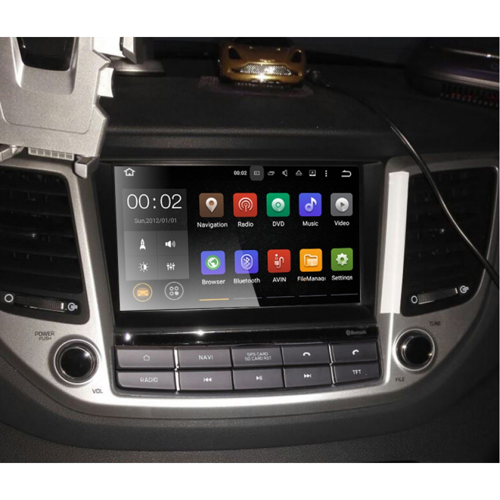 Car Audio Media player Android 7 1 2 & 8 0 OS with GPS navi
